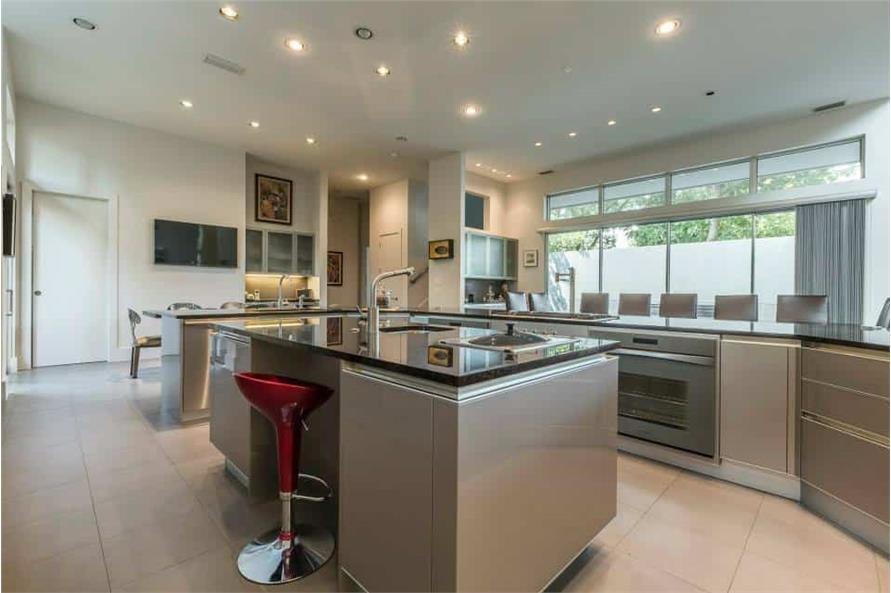 Kitchen: Kitchen Island of this 3-Bedroom,4580 Sq Ft Plan -195-1249
