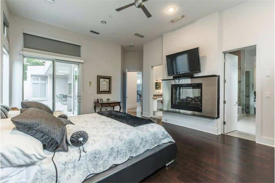 Master Bedroom of this 3-Bedroom,4580 Sq Ft Plan -195-1249