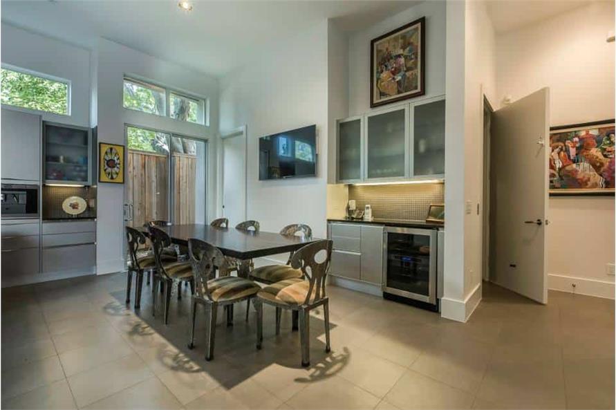 Kitchen: Breakfast Nook of this 3-Bedroom,4580 Sq Ft Plan -195-1249