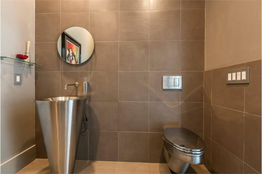 Powder Room of this 3-Bedroom,4580 Sq Ft Plan -195-1249