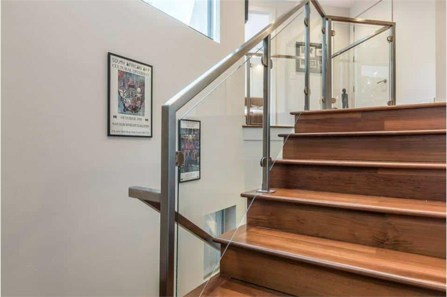Entry Hall: Staircase of this 3-Bedroom,4580 Sq Ft Plan -195-1249