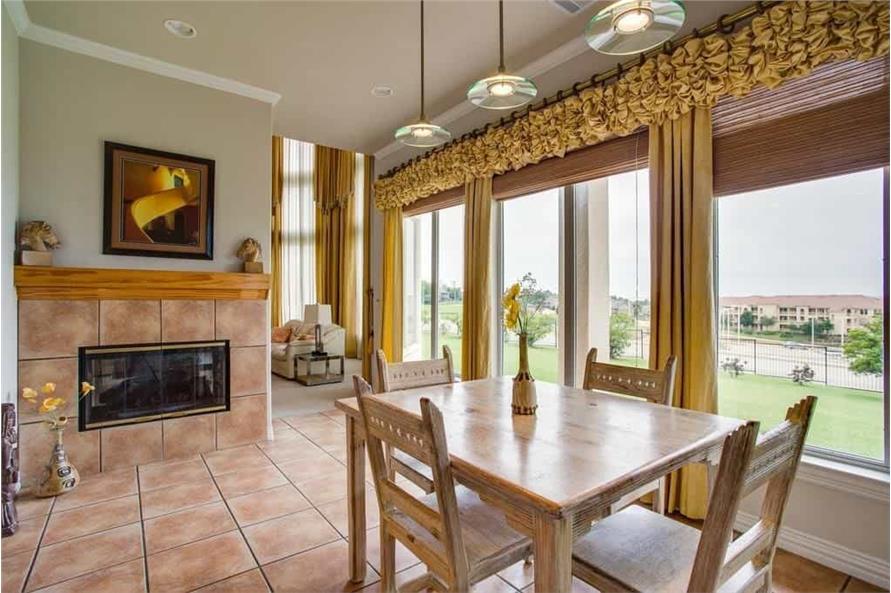Kitchen: Breakfast Nook of this 3-Bedroom,3987 Sq Ft Plan -195-1250
