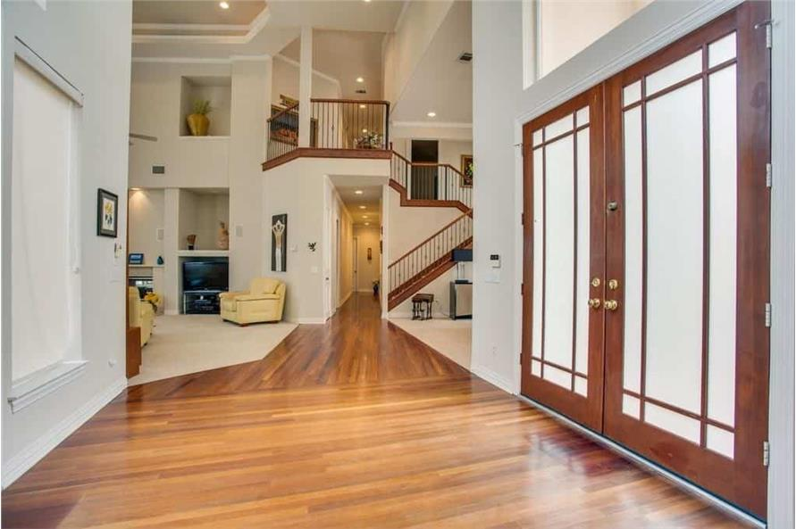 Entry Hall: Foyer of this 3-Bedroom,3987 Sq Ft Plan -195-1250