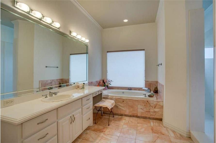 Master Bathroom of this 3-Bedroom,3987 Sq Ft Plan -195-1250