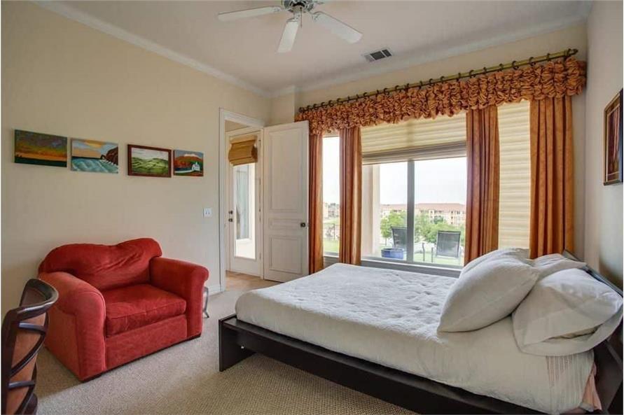Bedroom of this 3-Bedroom,3987 Sq Ft Plan -195-1250