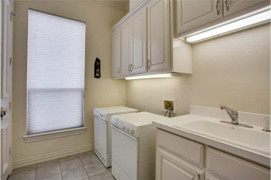 Laundry Room of this 3-Bedroom,3987 Sq Ft Plan -195-1250