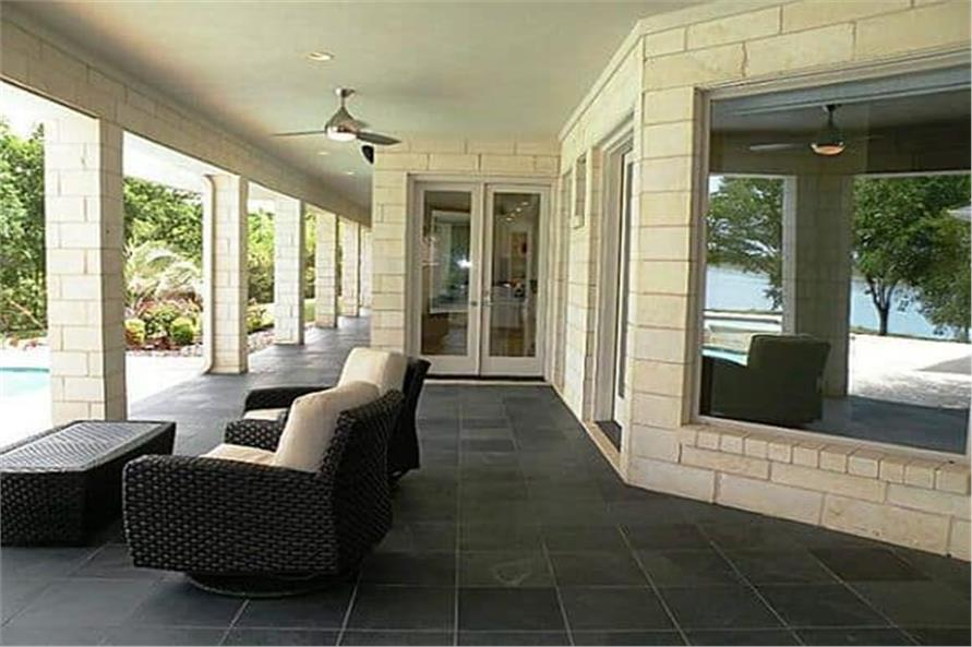 Patio of this 4-Bedroom,5199 Sq Ft Plan -195-1257