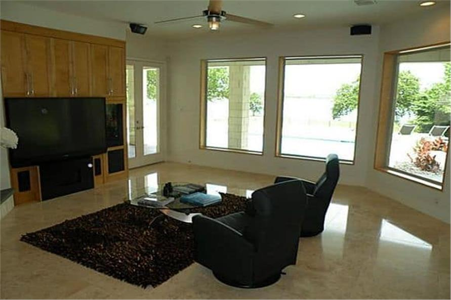 Family Room of this 4-Bedroom,5199 Sq Ft Plan -195-1257
