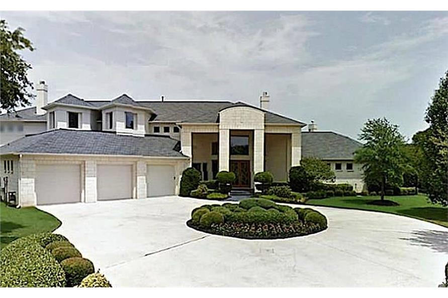 4-Bedroom, 5199 Sq Ft Contemporary Home - Plan #195-1257 - Main Exterior