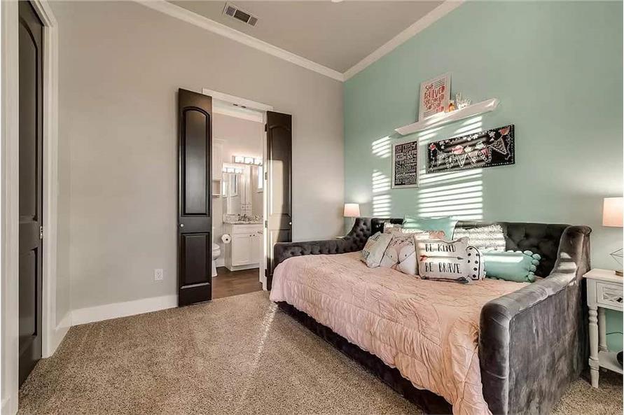 Bedroom of this 4-Bedroom,3065 Sq Ft Plan -195-1265