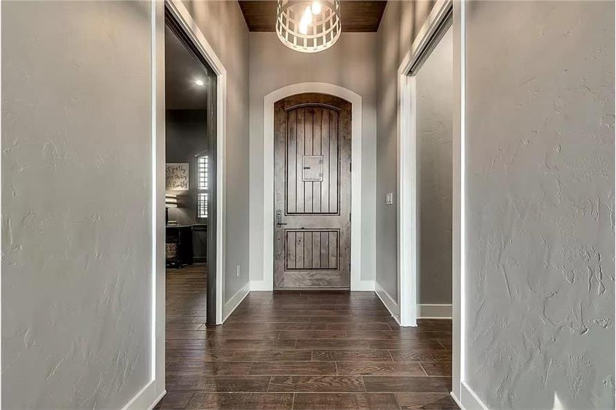 Entry Hall: Foyer of this 4-Bedroom,3065 Sq Ft Plan -195-1265