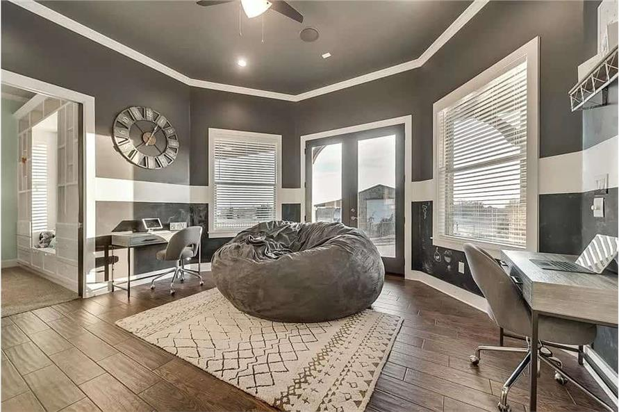 Game Room of this 4-Bedroom,3065 Sq Ft Plan -195-1265