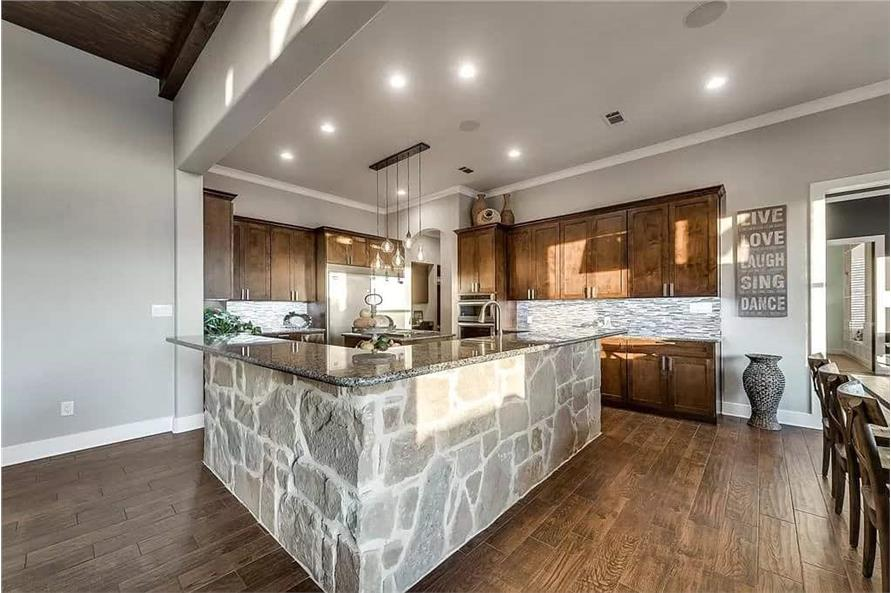 Kitchen of this 4-Bedroom,3065 Sq Ft Plan -195-1265