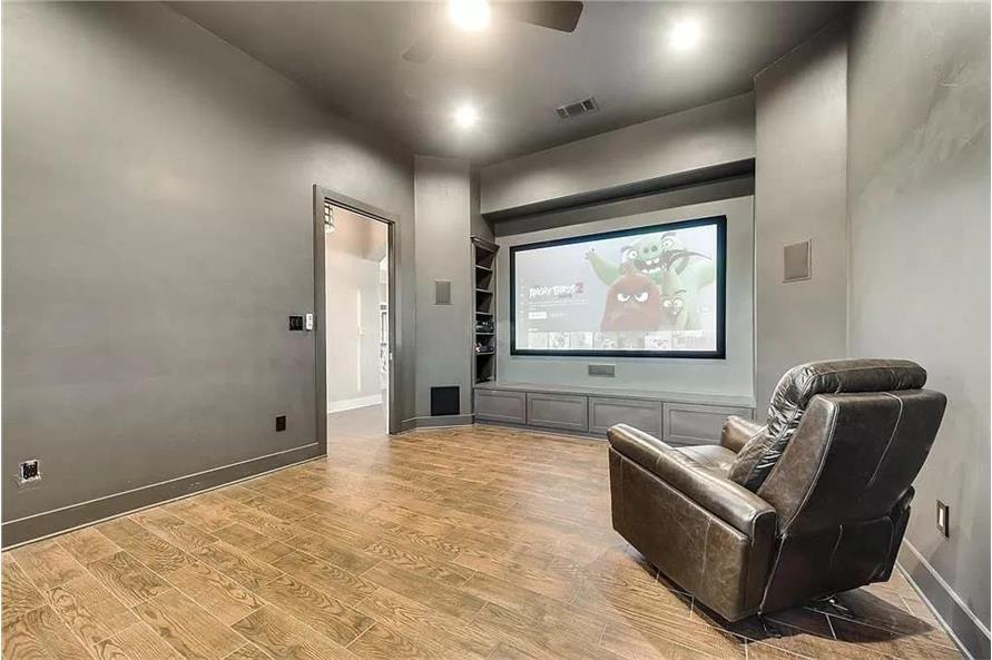 Media Room of this 4-Bedroom,3065 Sq Ft Plan -195-1265