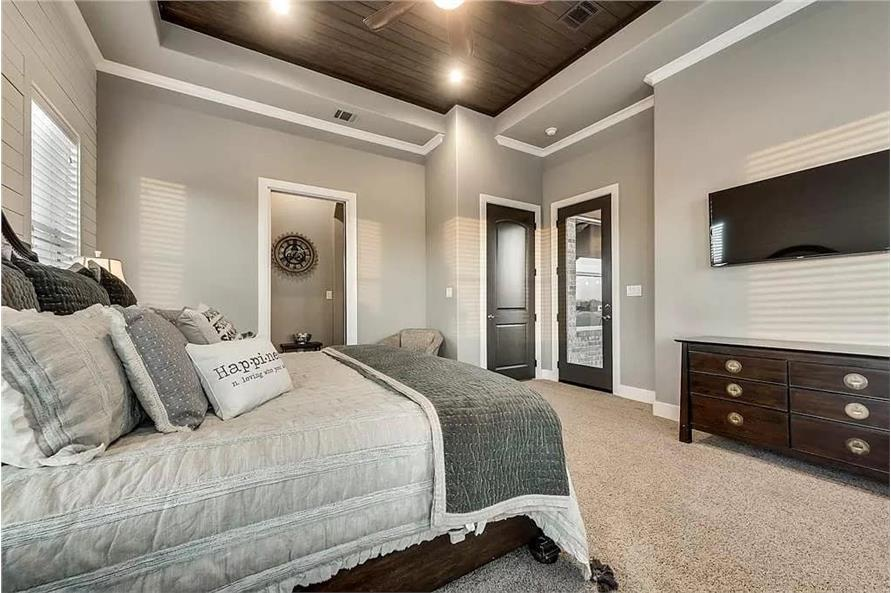 Master Bedroom of this 4-Bedroom,3065 Sq Ft Plan -195-1265