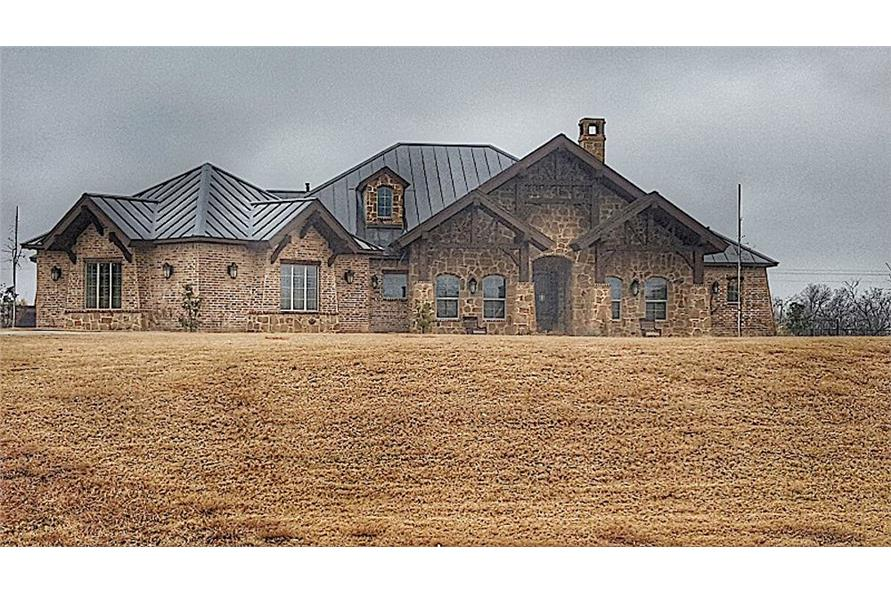 Front View of this 4-Bedroom,3065 Sq Ft Plan -195-1265