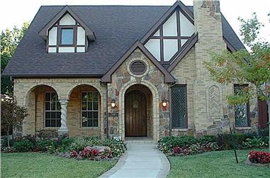 3–4-Bedroom, 2827 Sq Ft Tudor House - Plan #195-1280 - Front Exterior