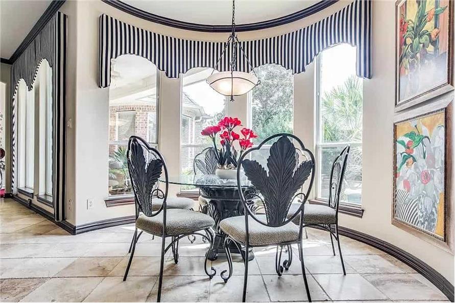 Kitchen: Breakfast Nook of this 3-Bedroom,3288 Sq Ft Plan -195-1287