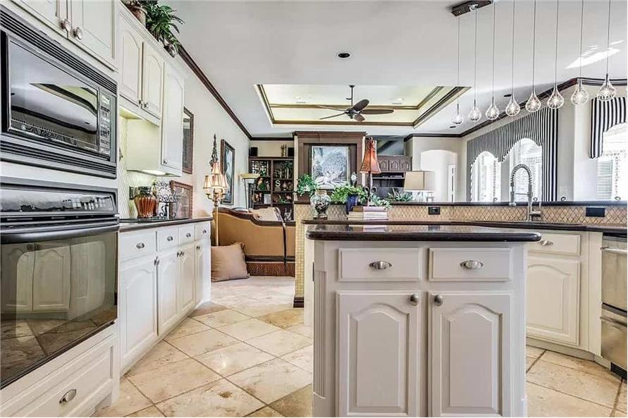 Kitchen of this 3-Bedroom,3288 Sq Ft Plan -195-1287