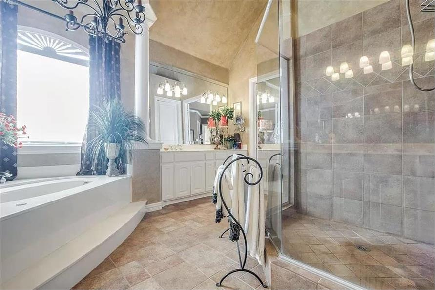 Master Bathroom of this 3-Bedroom,3288 Sq Ft Plan -195-1287
