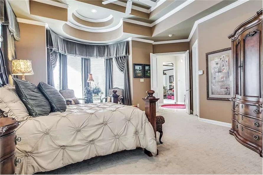 Master Bedroom of this 3-Bedroom,3288 Sq Ft Plan -195-1287
