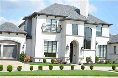 4-Bedroom, 3937 Sq Ft French House - Plan #195-1292 - Front Exterior