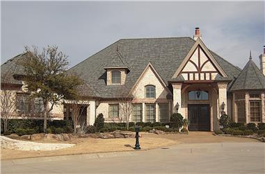 4-Bedroom, 4957 Sq Ft French Home - Plan #195-1294 - Main Exterior