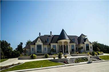 5-Bedroom, 7685 Sq Ft Acadian Home - Plan #195-1301 - Main Exterior