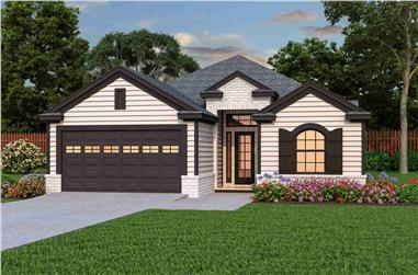 3-Bedroom, 2098 Sq Ft Cottage House - Plan #195-1304 - Front Exterior