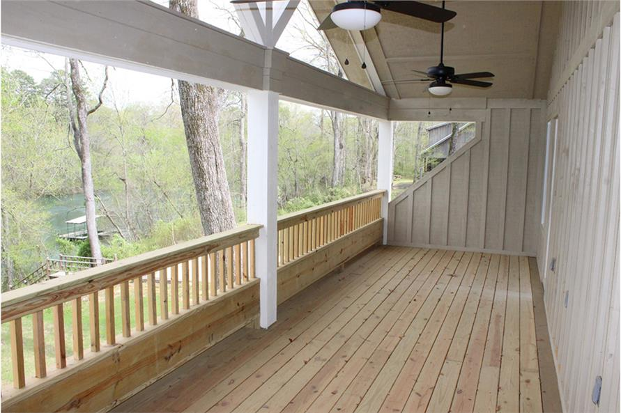Porch of this 3-Bedroom,1972 Sq Ft Plan -1972