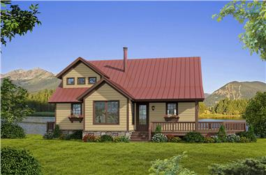 3-Bedroom, 1872 Sq Ft Cottage House - Plan #196-1012 - Front Exterior