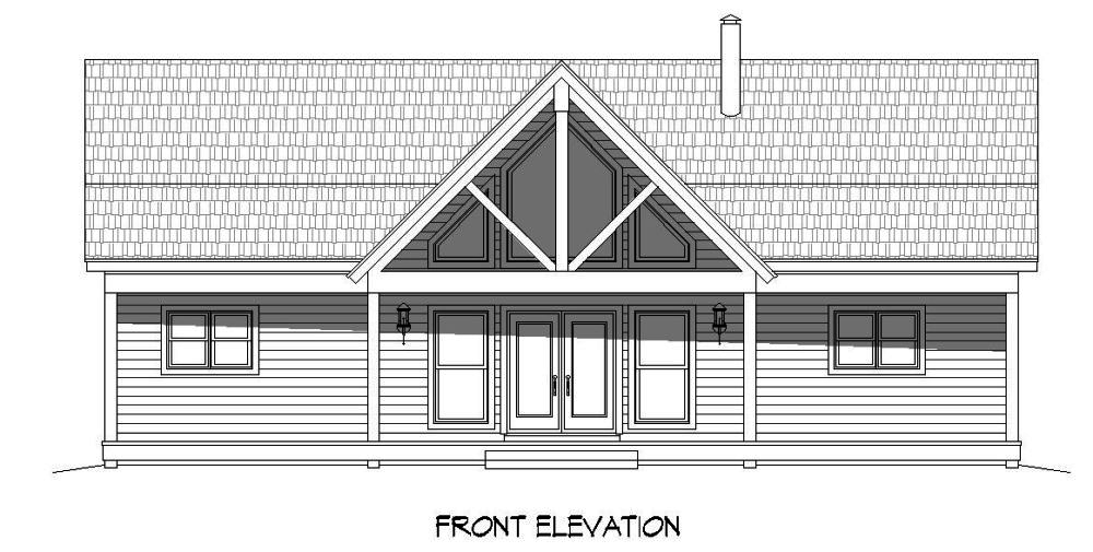 2 bedrm 1500 sq ft craftsman house plan 196 1014 for 1500 sq ft craftsman house plans