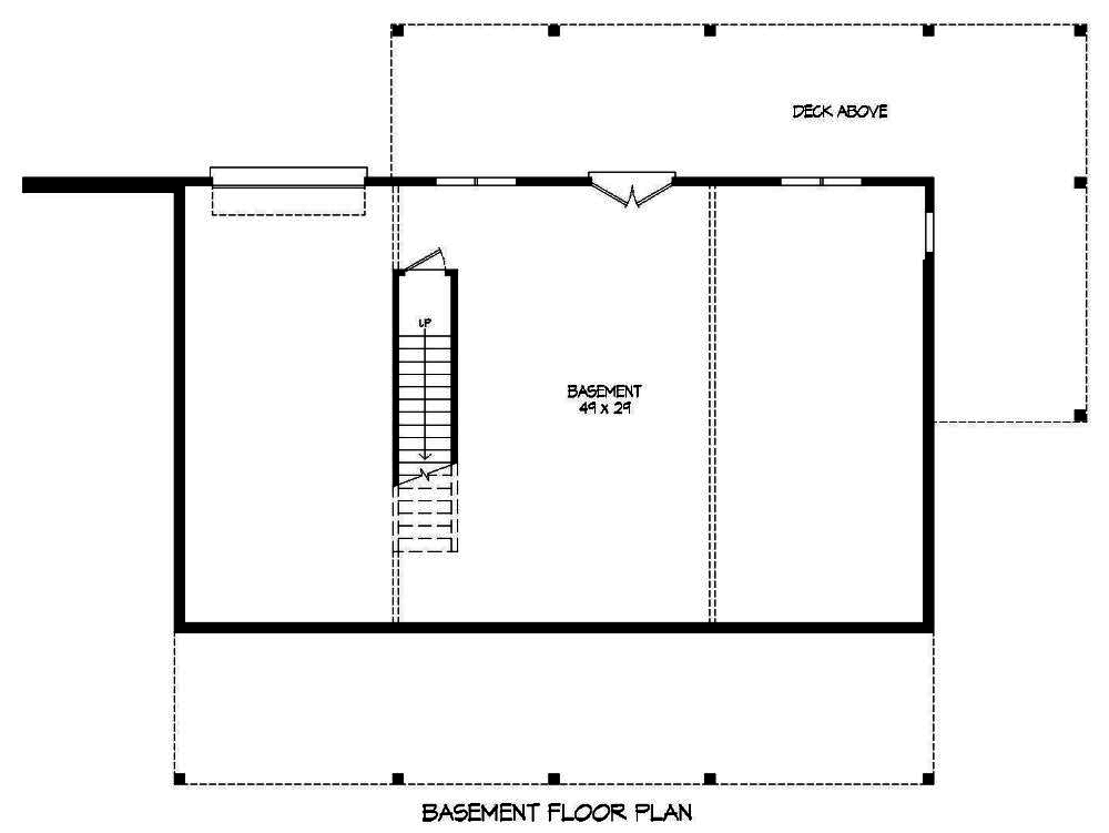2 bedrm 1500 sq ft craftsman house plan 196 1014 for 1500 sq ft house plans with basement