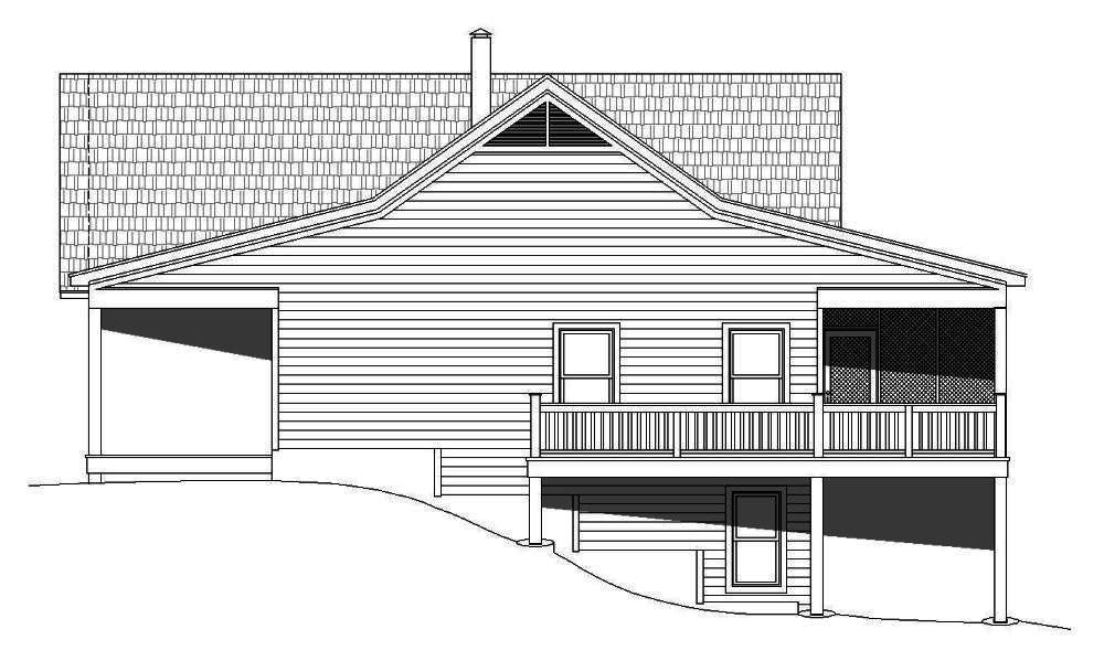 2 bedrm 1500 sq ft craftsman house plan 196 1014 for 1500 sq ft craftsman house plans