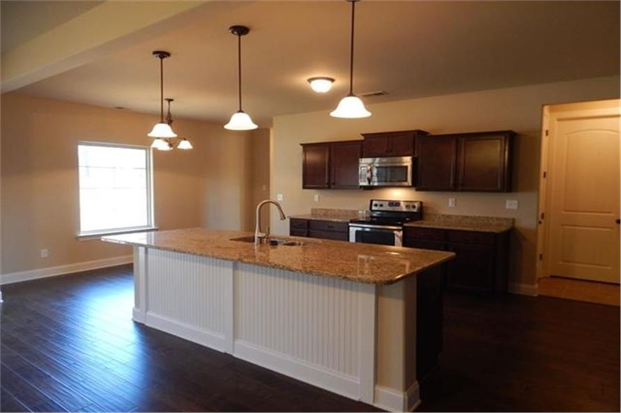 Kitchen of this 3-Bedroom,3018 Sq Ft Plan -3018