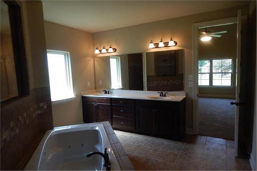 Master Bathroom of this 3-Bedroom,3018 Sq Ft Plan -3018