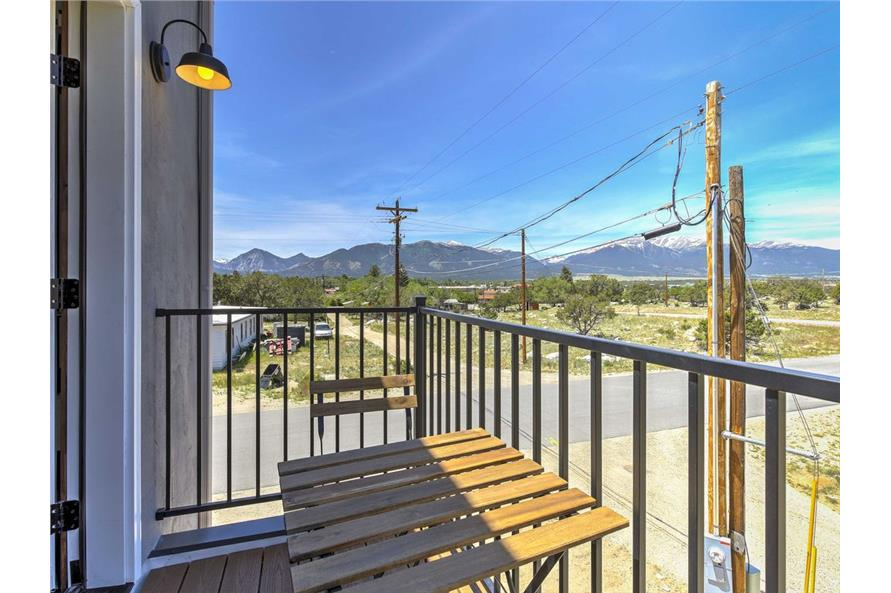 Balcony of this 2-Bedroom,820 Sq Ft Plan -820