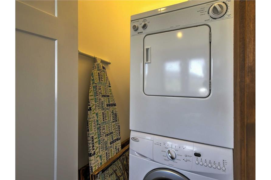 Laundry Room of this 2-Bedroom,820 Sq Ft Plan -820