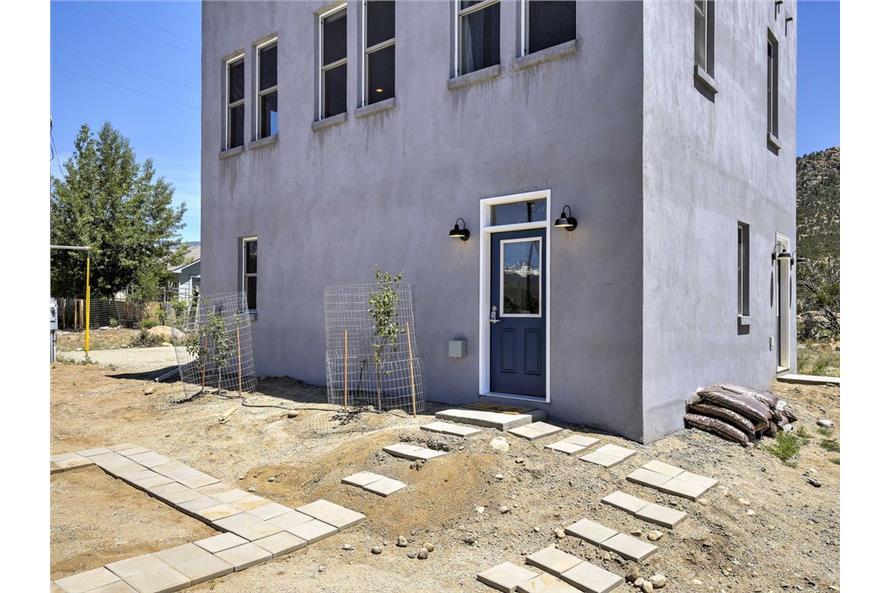 Front Door of this 2-Bedroom,820 Sq Ft Plan -820