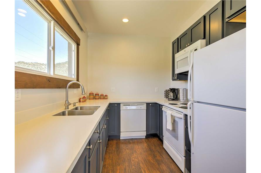 Kitchen of this 2-Bedroom,820 Sq Ft Plan -820