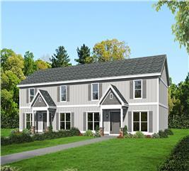 House Plan #196-1034