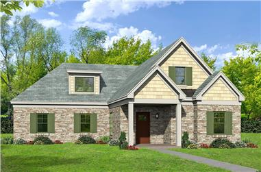 3-Bedroom, 2591 Sq Ft Cottage House - Plan #196-1071 - Front Exterior