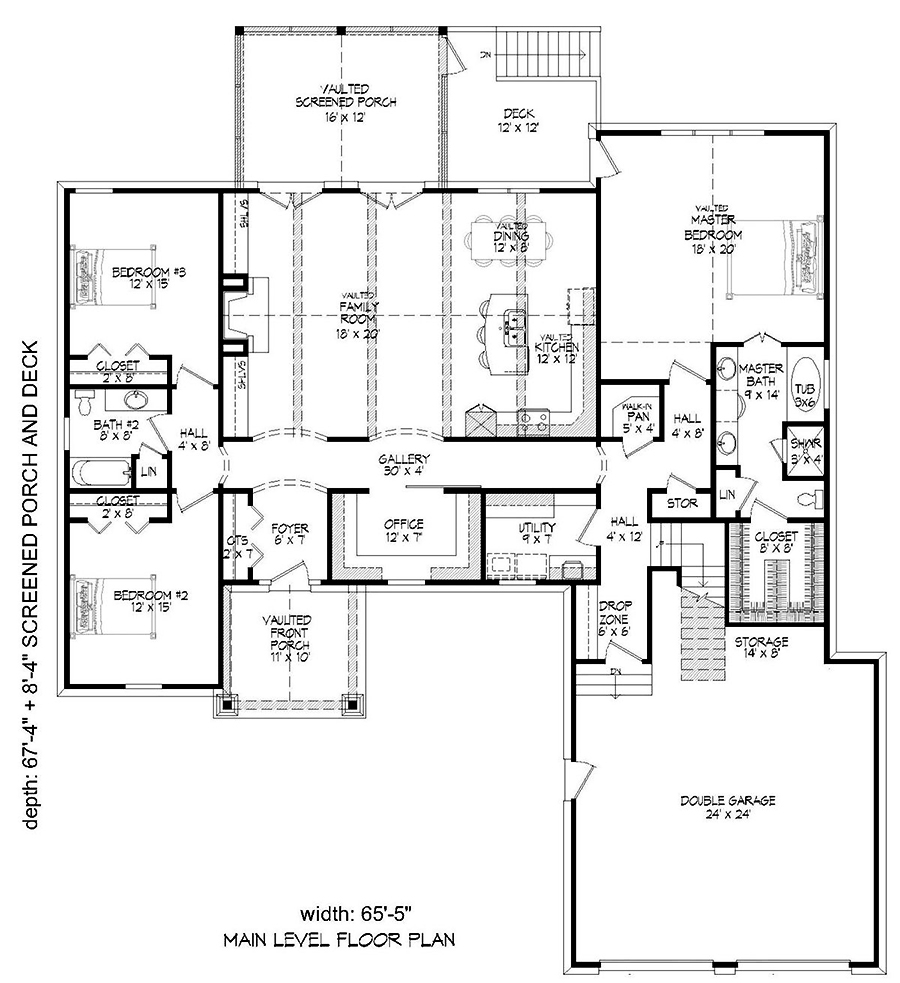 Ranch floor plan 3 bedrms 2 5 baths 2600 sq ft 196 for 2600 sq ft house cost