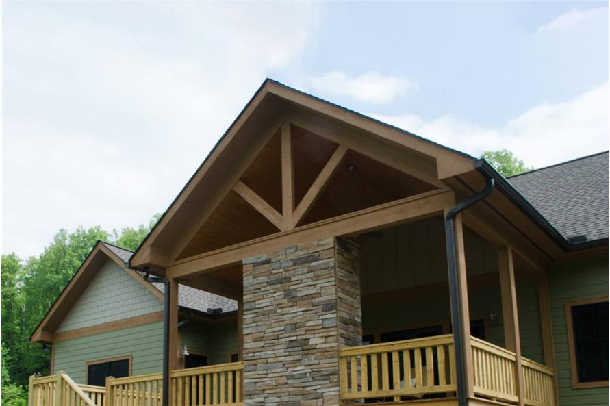 Porch of this 3-Bedroom,2600 Sq Ft Plan -2600