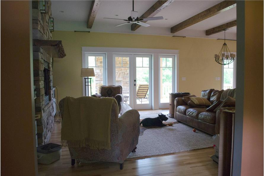 Family Room of this 3-Bedroom,2600 Sq Ft Plan -2600