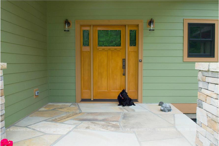 Front Door of this 3-Bedroom,2600 Sq Ft Plan -2600