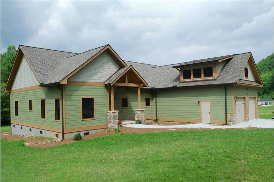 Left Side View of this 3-Bedroom,2600 Sq Ft Plan -2600