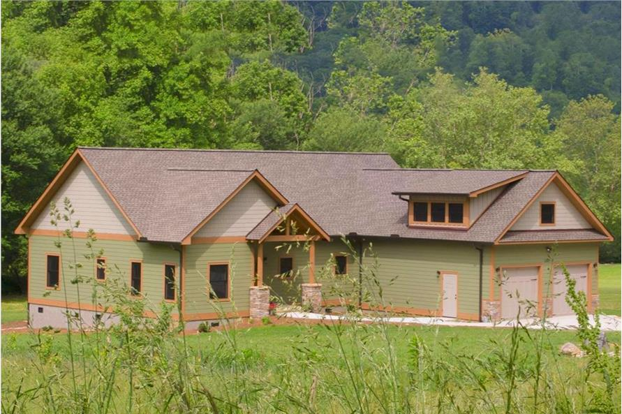 Left Side View of this 3-Bedroom,2235 Sq Ft Plan -2235