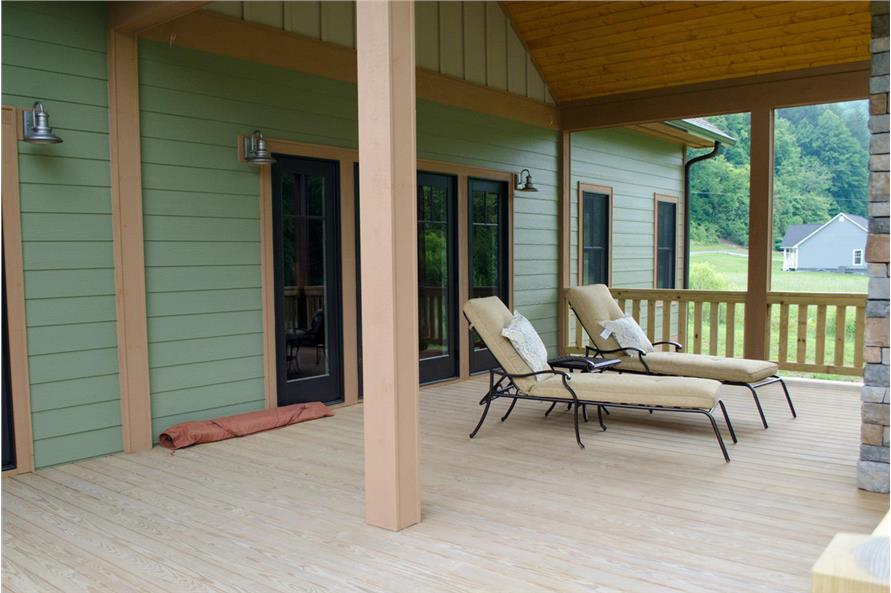 Porch of this 3-Bedroom,2235 Sq Ft Plan -2235