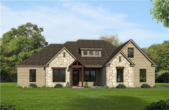 House Plan #2500-350-1345